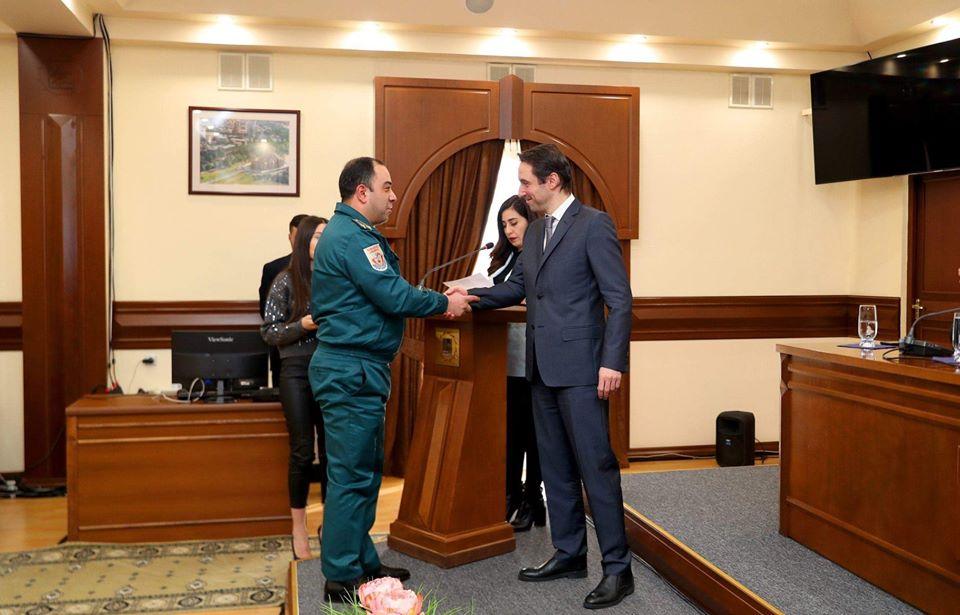 Հայտնի է՝ ով է արժանացել այս տարվա «Երևան քաղաքի պատվավոր փրկարարի» կոչմանը.  ՖՈՏՈՌԵՊՈՐՏԱԺ